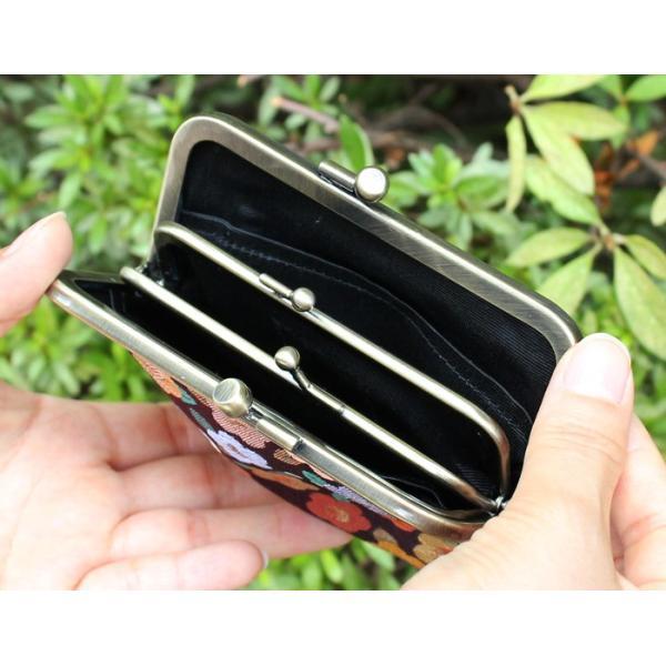 がま口 平親子がま口財布(マチ有り) 金襴 | 財布 サイフ がま口 カードケース 日本製 がま口財布 がまぐち コインケース 春財布 誕生日 プレゼン 在庫商品|ayano-koji|04