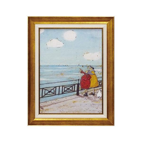 絵画 サムトフト 彼女の好きな雲 絵画 壁掛け 壁飾り インテリア 油絵 花 アートパネル ポスター 絵 額入り リビング 玄関