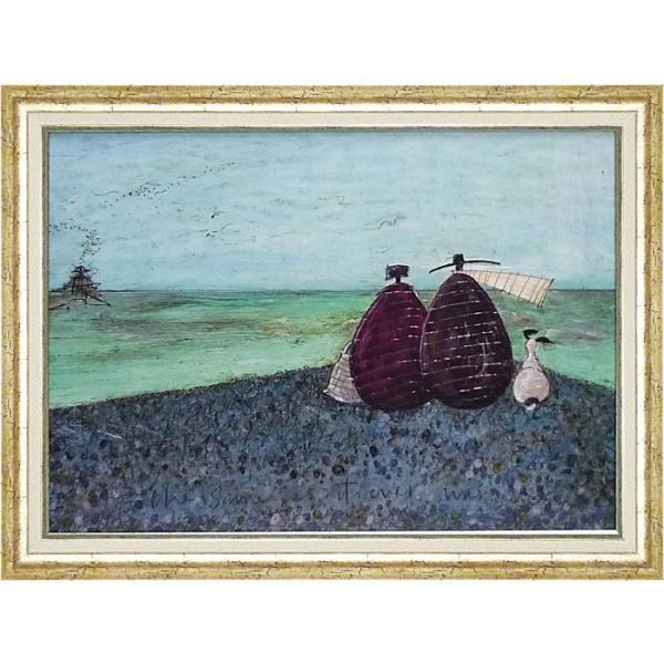 絵画/サム トフト ずっと、このままで/絵画 壁掛け 壁飾り インテリア 油絵 花 アートパネル ポスター 絵 額入り リビング 玄関 ayuwara