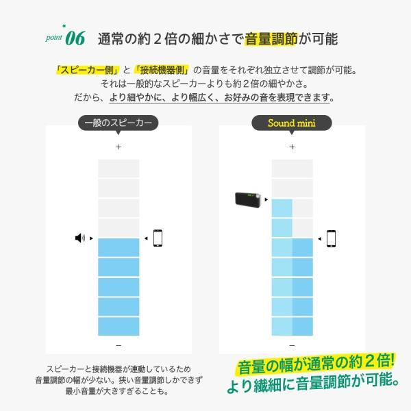 スピーカー iPhone ワイヤレス Bluetooth スピーカー ポータブル 重低音 高音質 大音量 SoundMini iina-style|az-market|10