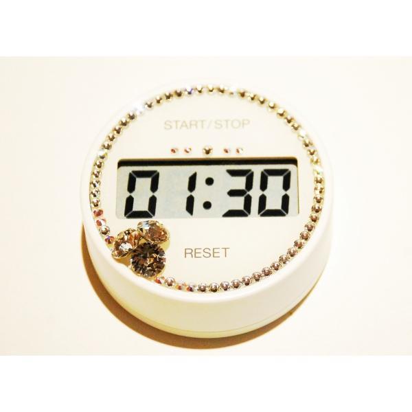 カラフルなキッチンタイマー♪Color kitchen timer タイマー スチール マグネット 便利 キッチン 冷蔵庫 小型 お洒落