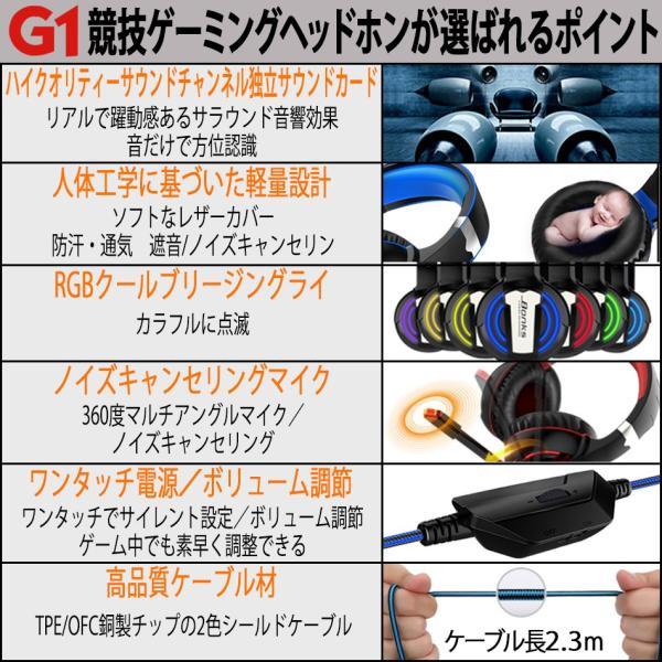 ゲーミングヘッドセット ヘッドホン スイッチ PS4  PC フォーナイト ボイスチャット 対応 ゲーム ヘッドフォン Switch ゲーミング リモコン マイク付き 限定価格|azbex-tec|18