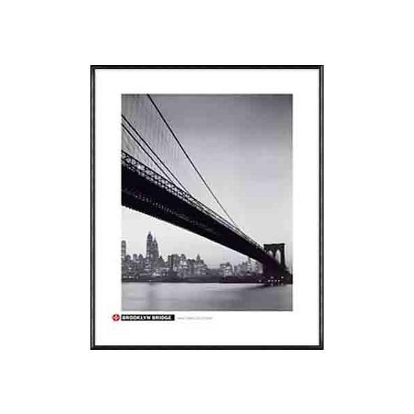 ブルックリン ブリッジ(アーティスト不明) 額装品 アルミ製ハイグレードフレーム