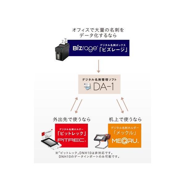 【キングジム】ビズストレージ DNX100 デジタル名刺整理用品|aztec|04
