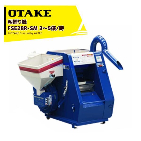 大竹製作所 籾摺り機 ミニダップ FSE28R-SM 180〜300kg/h( 3〜5俵/時 )