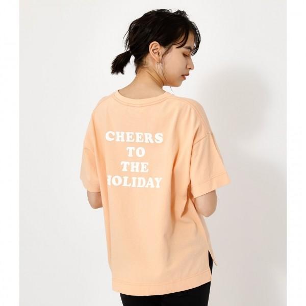 CHEERS TEE/チアーズTシャツ /レディース/トップス カットソー  5部・7部袖【MARKDOWN】
