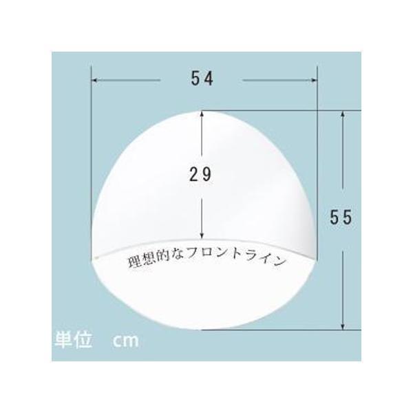 洋髪用綿帽子 シルック羽二重  azuma-onlineshop 02