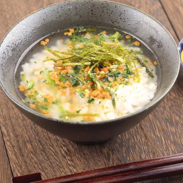 男の茶漬け お茶づけ にんにく ラー油 鶏ガラ 4.8g×8袋  (ポスト投函-1)