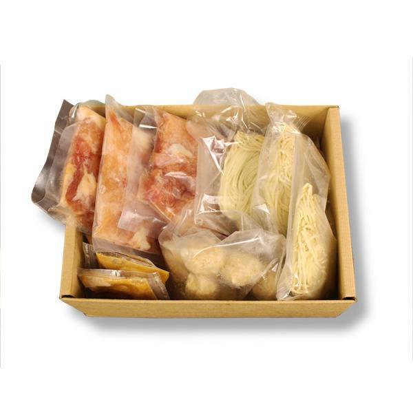 ギフト 奥美濃古地鶏 鍋セット 3人前 鶏肉 つみれ 塩麹スープ 高山ラーメン ミールキット レンチン|azusaya|02