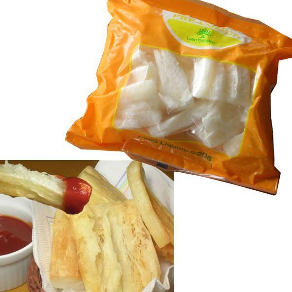 キャッサバ芋 マンジョッカ プレコジッダ 500g ボイル済 冷凍