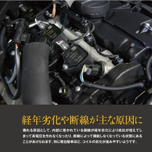 エブリィ EVERY DA64V/W K6A H17.8〜 イグニッションコイル 3本セット  参考純正品番 33400-85K20 純正同等 社外品|azzurri|06
