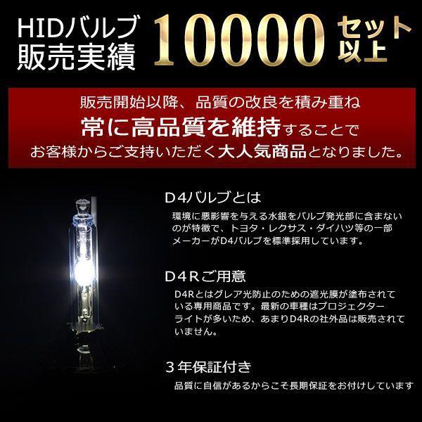 HID バルブ 60 VOXY ヴォクシー 後期 H16.8〜H19.5 AZR6#系 D4R HIDバーナー 純正交換用 最新モデル hid(送料無料)|azzurri|02