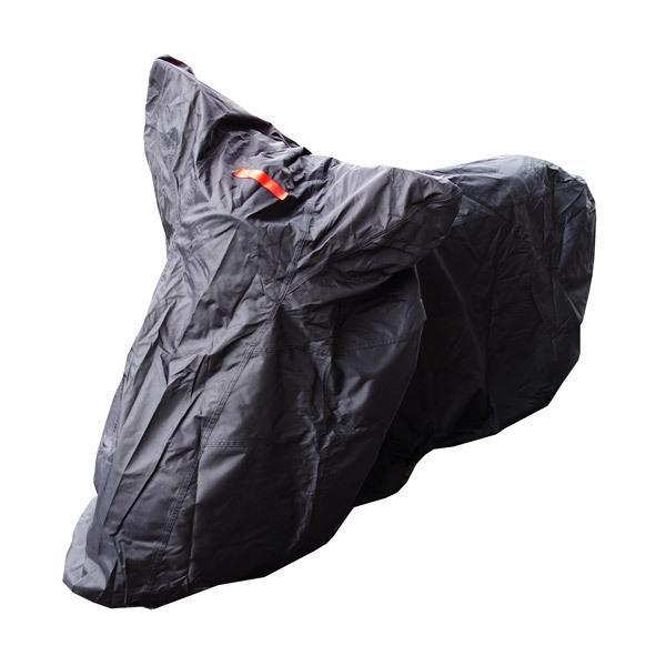 バイクカバー/溶けない ボディーカバー (Lサイズ) オックス300D 耐熱/高耐久性/防水/超撥水/収納袋付 azzurri