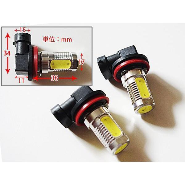 LED フォグ ノート 前期 E11 H17.1〜H19.12 超高輝度 バルブ H8 7.5W //送料無料|azzurri|02