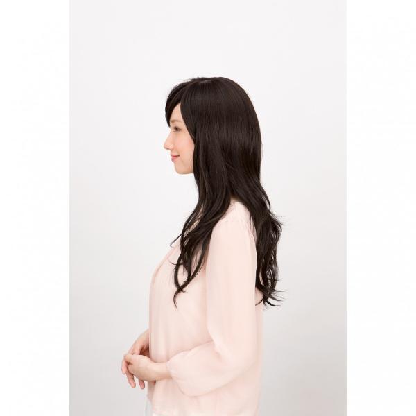 ウィッグ ラパンドアール 耐熱 透明感のあるロング フルウィッグNo1067 女性用かつら