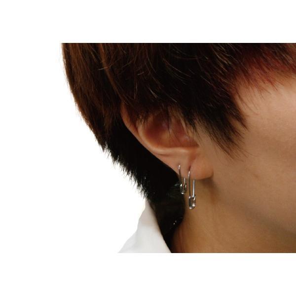 メンズ ピアス 安全ピン 20G サージカルステンレス アレルギーフリー 片売り レディース|b-and-g-silver|07
