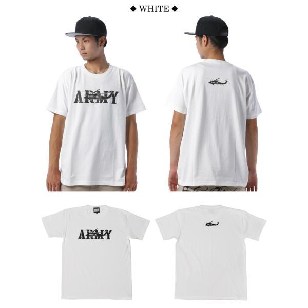 BUSH BROS DESIGN(ブッシュブロスデザイン) 半袖 Tシャツ ARMY S/S TEE(BBD-SS004) ストリート系 B系 大きいサイズ|b-bros|02