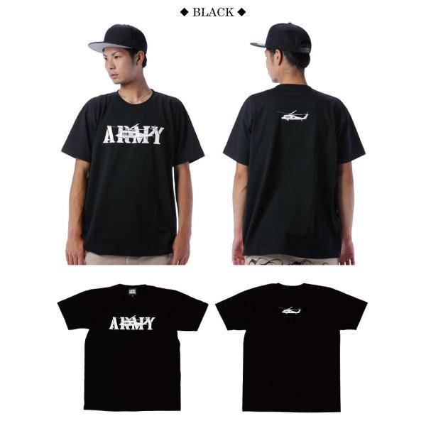 BUSH BROS DESIGN(ブッシュブロスデザイン) 半袖 Tシャツ ARMY S/S TEE(BBD-SS004) ストリート系 B系 大きいサイズ|b-bros|03