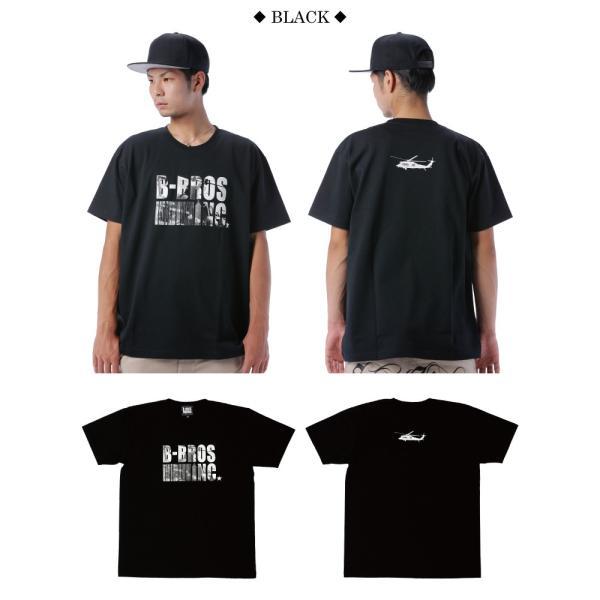 BUSH BROS DESIGN(ブッシュブロスデザイン) 半袖 Tシャツ COMBAT S/S TEE(BBD-SS006) ストリート系 B系 大きいサイズ|b-bros|03