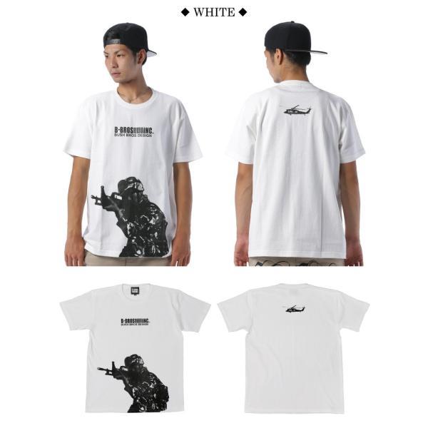 BUSH BROS DESIGN(ブッシュブロスデザイン) 半袖 Tシャツ TARGET S/S TEE(BBD-SS007) ストリート系 B系 大きいサイズ|b-bros|02