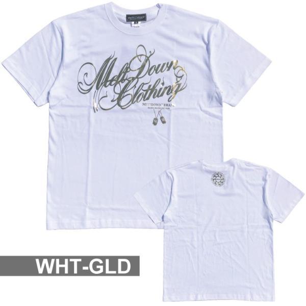 MELTDOWN(メルトダウン) Tシャツ FOIL SCRIPT S/S TEE(MD18SS-SS02) ストリート系 B系 大きいサイズ|b-bros|05