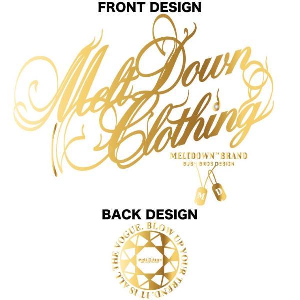 MELTDOWN(メルトダウン) Tシャツ FOIL SCRIPT S/S TEE(MD18SS-SS02) ストリート系 B系 大きいサイズ|b-bros|10