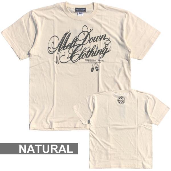 MELTDOWN(メルトダウン) Tシャツ NATURE SCRIPT S/S TEE(MD18SS-SS04) ストリート系 B系 大きいサイズ|b-bros|03