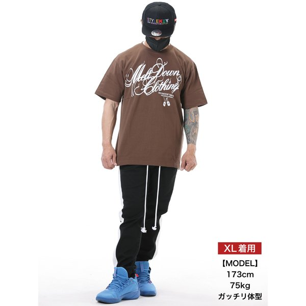 MELTDOWN(メルトダウン) Tシャツ NATURE SCRIPT S/S TEE(MD18SS-SS04) ストリート系 B系 大きいサイズ|b-bros|04