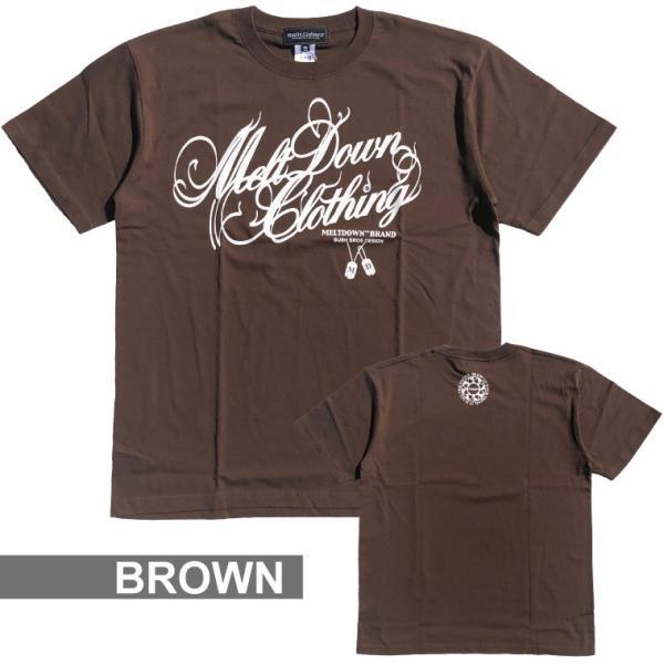 MELTDOWN(メルトダウン) Tシャツ NATURE SCRIPT S/S TEE(MD18SS-SS04) ストリート系 B系 大きいサイズ|b-bros|05