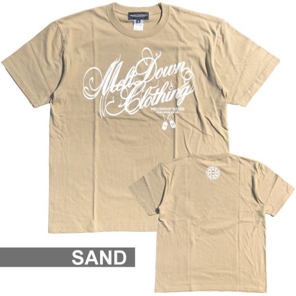 MELTDOWN(メルトダウン) Tシャツ NATURE SCRIPT S/S TEE(MD18SS-SS04) ストリート系 B系 大きいサイズ|b-bros|07