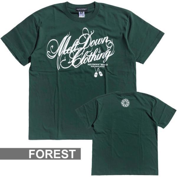 MELTDOWN(メルトダウン) Tシャツ NATURE SCRIPT S/S TEE(MD18SS-SS04) ストリート系 B系 大きいサイズ|b-bros|09