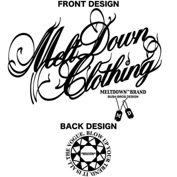 MELTDOWN(メルトダウン) Tシャツ NATURE SCRIPT S/S TEE(MD18SS-SS04) ストリート系 B系 大きいサイズ|b-bros|10