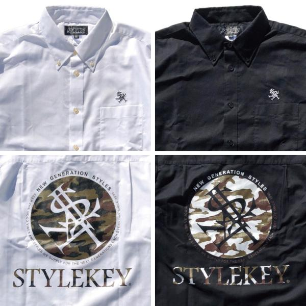 STYLEKEY(スタイルキー) 長袖シャツ SCOPE OXFORD L/S SHIRT(SK17HO-BL01) ストリート系 B系 大きいサイズ|b-bros|04