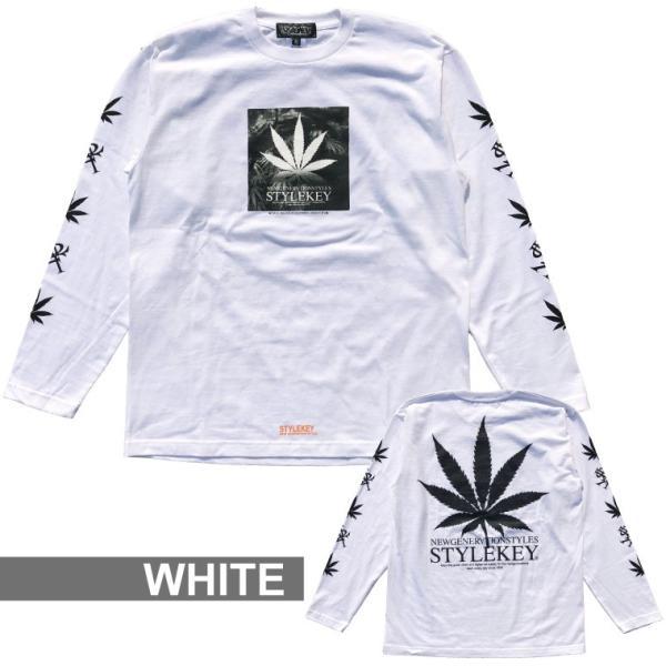 STYLEKEY(スタイルキー) 長袖Tシャツ ADDICT L/S TEE(SK17HO-LS03) ストリート系 B系 大きいサイズ|b-bros|02