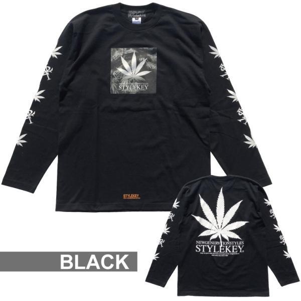 STYLEKEY(スタイルキー) 長袖Tシャツ ADDICT L/S TEE(SK17HO-LS03) ストリート系 B系 大きいサイズ|b-bros|03