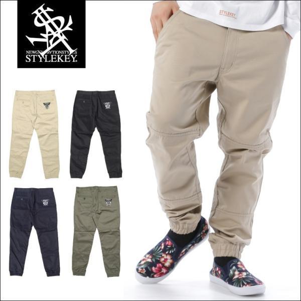 STYLEKEY スタイルキー ジョガーパンツ MATERIAL JOGGER PANTS(SK17SP-PT01) ストリート系 B系 大きいサイズ b-bros