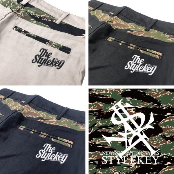 STYLEKEY スタイルキー バンダナ付きワークパンツ TIGER CAMO BANDANNA WORK PANTS(SK18FW-PT01) ストリート系 B系 大きいサイズ|b-bros|05