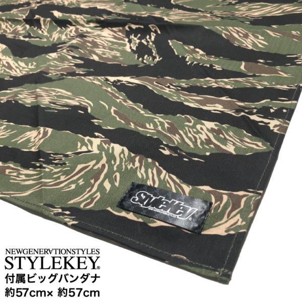 STYLEKEY スタイルキー バンダナ付きワークパンツ TIGER CAMO BANDANNA WORK PANTS(SK18FW-PT01) ストリート系 B系 大きいサイズ|b-bros|06