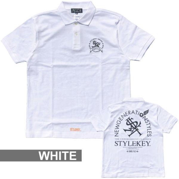 STYLEKEY スタイルキー ポロシャツ ARCADE 鹿の子 S/S POLO(SK18SP-PL02) ストリート系 B系 大きいサイズ|b-bros|03