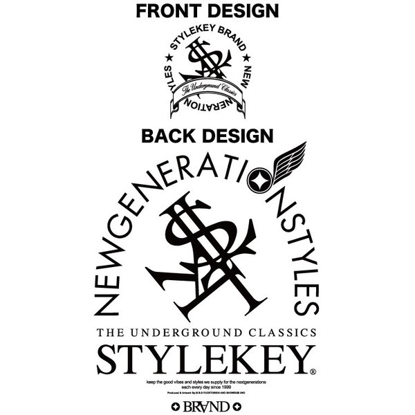 STYLEKEY スタイルキー ポロシャツ ARCADE 鹿の子 S/S POLO(SK18SP-PL02) ストリート系 B系 大きいサイズ|b-bros|05
