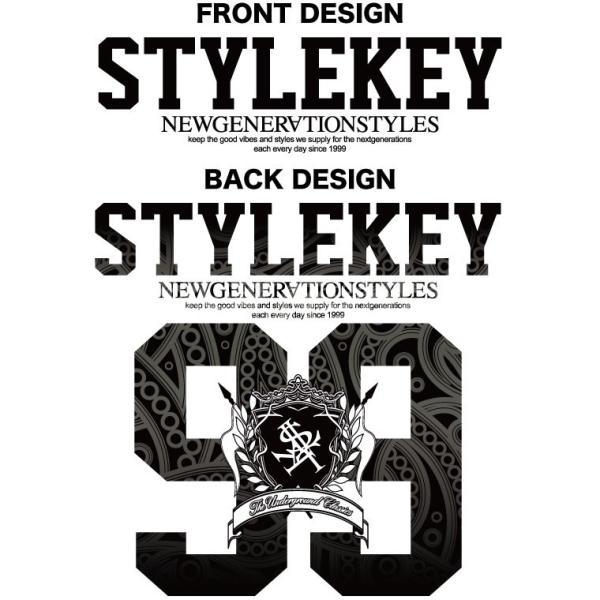 STYLEKEY スタイルキー 半袖スウェットパーカー VIGOR S/S HOOD SWEAT(SK18SP-SWH01) ストリート系 B系 大きいサイズ|b-bros|04