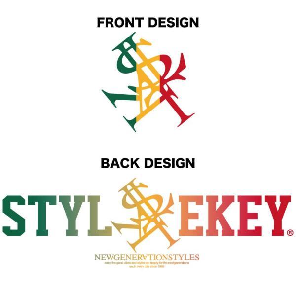 STYLEKEY スタイルキー ポロシャツ RASTA ROYAL 鹿の子 S/S POLO(SK18SU-PL01) ストリート系 B系 大きいサイズ b-bros 04