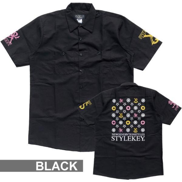 STYLEKEY スタイルキー 半袖シャツ IMAGINATION S/S SHIRT(SK19SP-BL02) ストリート系 B系 大きいサイズ|b-bros|02
