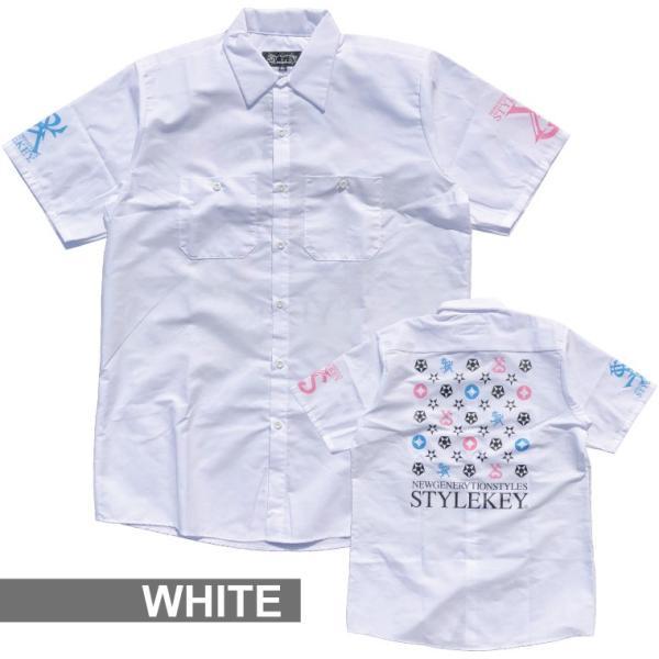STYLEKEY スタイルキー 半袖シャツ IMAGINATION S/S SHIRT(SK19SP-BL02) ストリート系 B系 大きいサイズ|b-bros|03