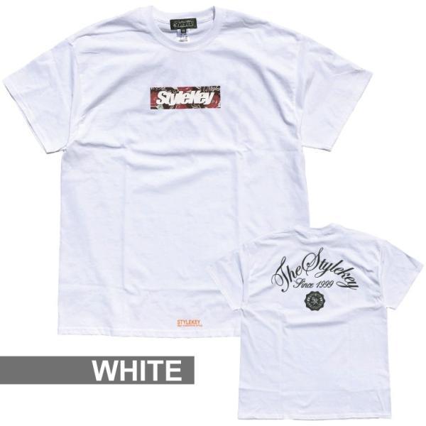 STYLEKEY スタイルキー 半袖Tシャツ ROSE BOX S/S TEE(SK19SP-SS05) ストリート系 B系 大きいサイズ|b-bros|03