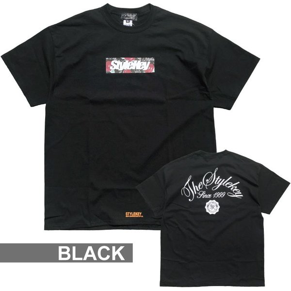 STYLEKEY スタイルキー 半袖Tシャツ ROSE BOX S/S TEE(SK19SP-SS05) ストリート系 B系 大きいサイズ|b-bros|04