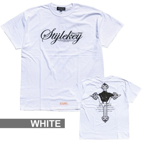 STYLEKEY スタイルキー 半袖Tシャツ ADVENT S/S TEE(SK19SP-SS06) ストリート系 B系 大きいサイズ|b-bros|03