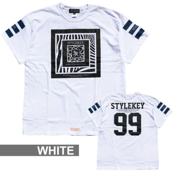 STYLEKEY スタイルキー 半袖Tシャツ CAPTURE S/S TEE(SK19SP-SS08) ストリート系 B系 大きいサイズ|b-bros|03