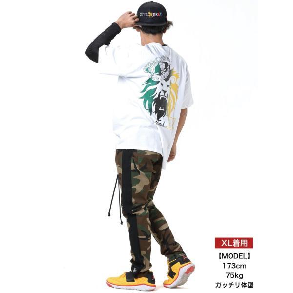 STYLEKEY スタイルキー 半袖Tシャツ REIGNING KING S/S TEE(SK19SP-SS09) ストリート系 B系 大きいサイズ|b-bros|02