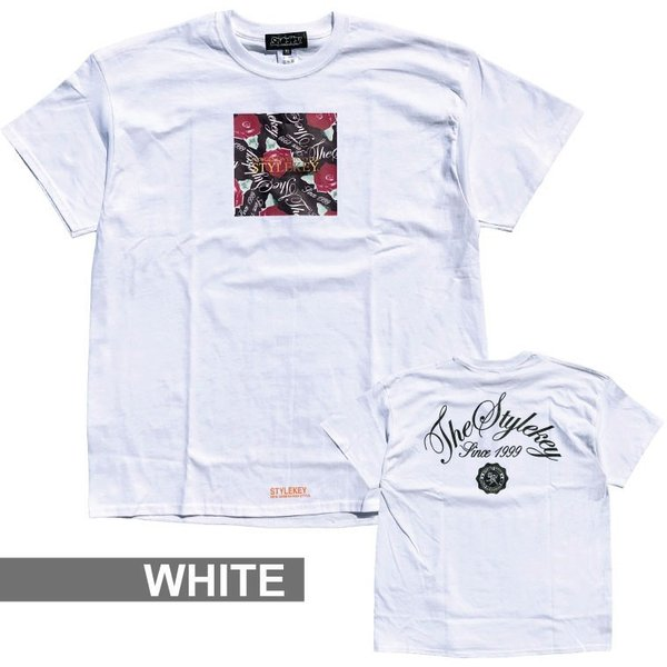 STYLEKEY スタイルキー 半袖Tシャツ PRESENTS S/S TEE(SK19SP-SS13) ストリート系 B系 大きいサイズ b-bros 03